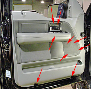 D Door Speaker Wire Info Needed Wosony furthermore D Passenger Window Wont Go Up Stuck Down Dsc further Figure Removing Mirror Cover likewise Ford F Install in addition Mrhtmotor Listing Picture. on 2004 ford f 150 door panel removal