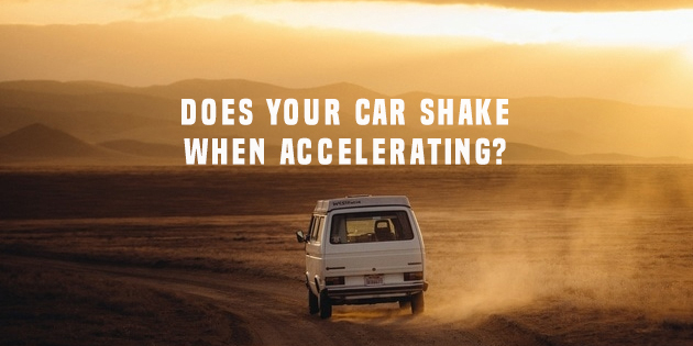 Car shakes when accelerating? Here's what you should know
