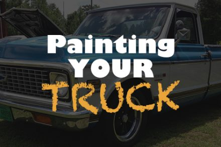 Painting your truck