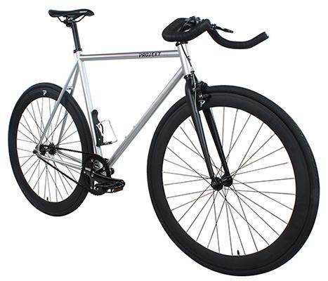 projekt fixie u2013 stealth fixed gear city bike
