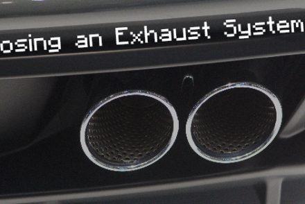 Choosing an Exhaust System