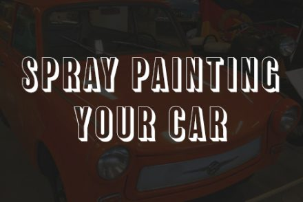 how to spray paint a car